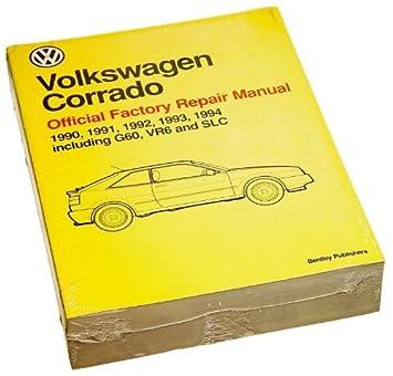 amazon com bentley paper repair manual vw corrado 1990 94 automotive rh amazon com Volkswagen Scirocco Volkswagen Vanagon