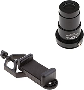 D DOLITY Astronomy Telescope Eyepiece 5X Barlow Lens M42x0.75mm Thread + Smartphone Holder para Binoculares: Amazon.es: Electrónica