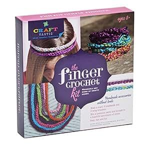 Ann Williams Group Craft-tastic Finger Crochet Kit