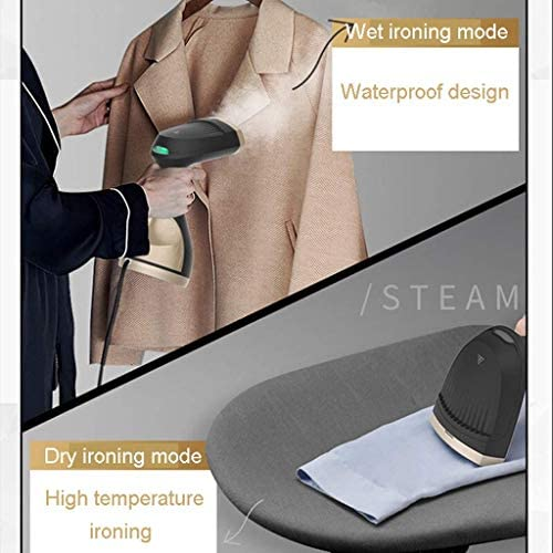 YFDD Steamer for Clothes, Handheld Mini Travel Ironing Machine Water Leakage Prevention for Multiple Fabrics Quick Wrinkle Removal 300Ml - Suitable for Family and Travel aijia