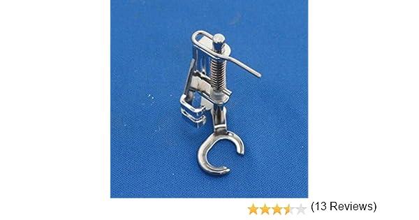 Tinksky Máquina de coser doméstica Open Toe Metal acolchado bordado prensatelas para el hermano Singer Janome Toyota ...