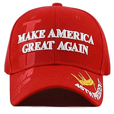 THE HAT DEPOT Exclusive President Trump Keep America Great/Make America Great Again 3D Cap