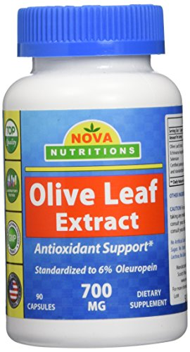 Nova Nutritions Olive Extract Capsules