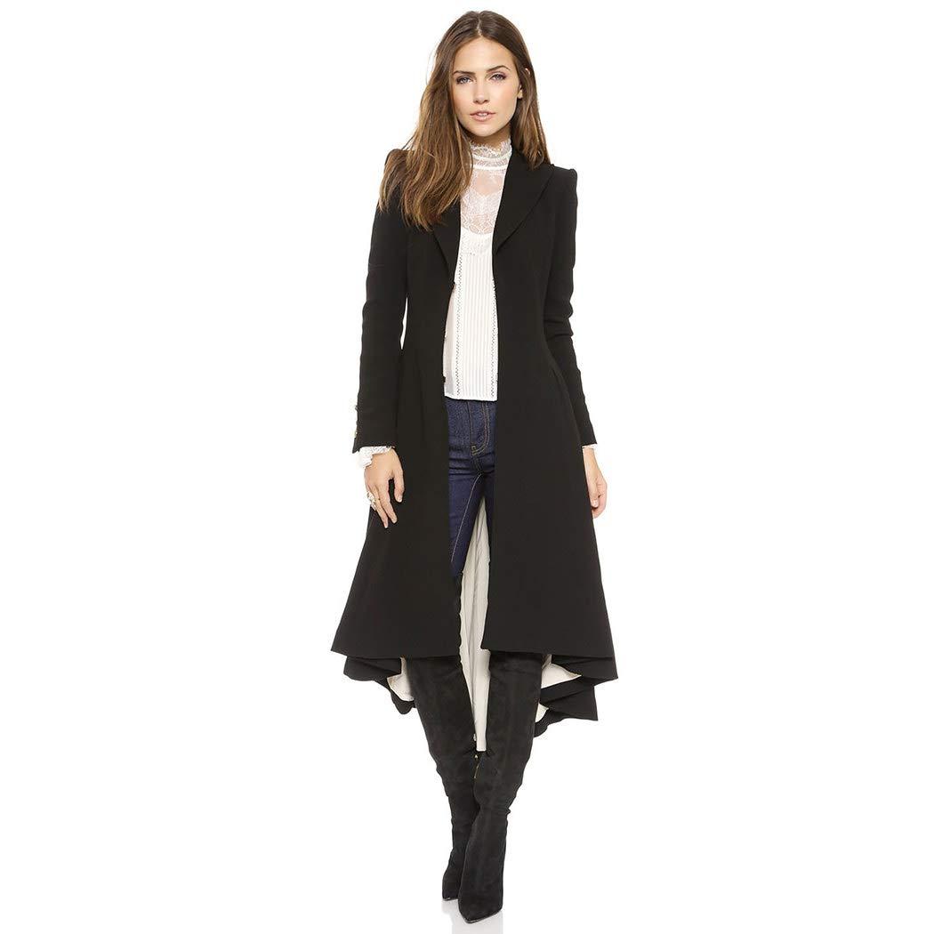 Bebogo Women Steampunk Tailcoat Jacket Gothic Tuxedo Viking Tailcoat Frock Coat CA18922970