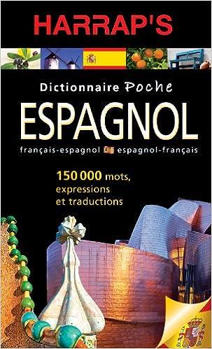 Harrap S Dictionnaire Poche Espagnol French Edition