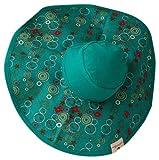 MoBoleez Tiny Bubbles Breastfeeding Hat, Turquoise, 6-12 Months, Baby & Kids Zone