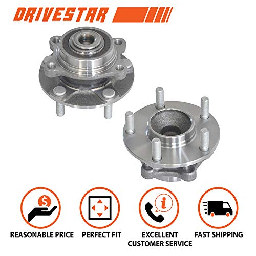 Brand New DRIVESTAR 513268x2 Front Wheel Hub & Bearing Assemblies pair fits 350Z G35 w/ABS