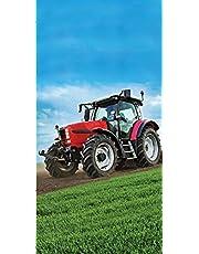 Farming Trecker Traktor ręcznik plażowy ręcznik kąpielowy 70 x 140 cm