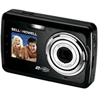 Bell and Howell 2V5-BK 12 Megapixel 2view Digital Camera (Black) At A Glance Review Image