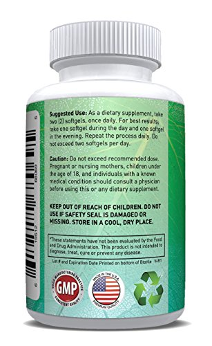 HIGH ENERGY SOLUTIONS Organic Coconut Oil Capsules Supplement Max Strength 2000mg! 120 Non-GMO Softgels For Ultimate Bioavailability And Absorption - Rich In MCFA and MCT by HIGH ENERGY SOLUTIONS (Image #2)
