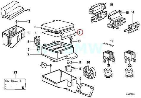 51O8lBucTKL._AC_SY400_ amazon com bmw genuine fuse box lock automotive