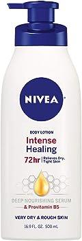 Nivea Intense Healing Body Lotion 16.9 oz. Pump Bottle
