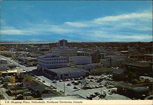 Y.K. Shopping Plaza Yellowknife, Northwest Territories Canada Original Vintage - Plaza Lennox