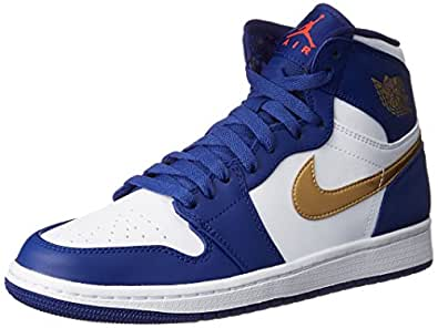 Amazon.com | Nike Mens AIR JORDAN 1 RETRO HIGH, DEEP ROYAL