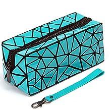 Women PU Makeup Organizer bag Zipper Bag Phone Case Small Bag Multiple Pockets Beemean