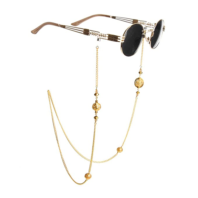 1bd59a3a0c2 Kalevel Eyeglass Holder Necklace Eyeglass Chain Beaded Glasses Sunglasses  Chain Eyeglass Chains and Cords for Women