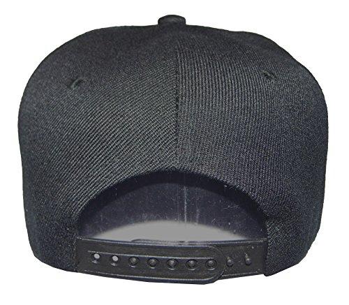 Buy plain black baseball cap kids