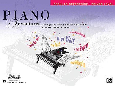 Piano Adventures: Popular Repertoire Set, Primer Level - Level 5 (8 Book Set, Popular Repertoire Books - Primer Level, Level 1, Level 2A, Level 2B, Level 3A, Level 3B, Level (Popular Repertoire Primer)