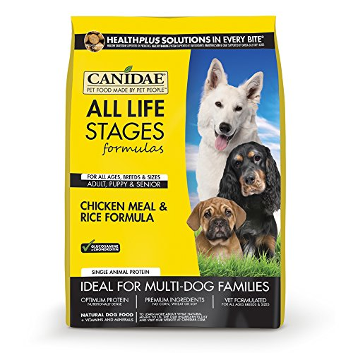 CANIDAE All Life Stages Dog Dry Food Chicken Meal & Rice Formula, 30 lbs