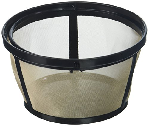 - Permanent Basket-Style Gold Tone Coffee Filter designed for Mr. Coffee 10-12 Cup Basket-Style Coffeemakers