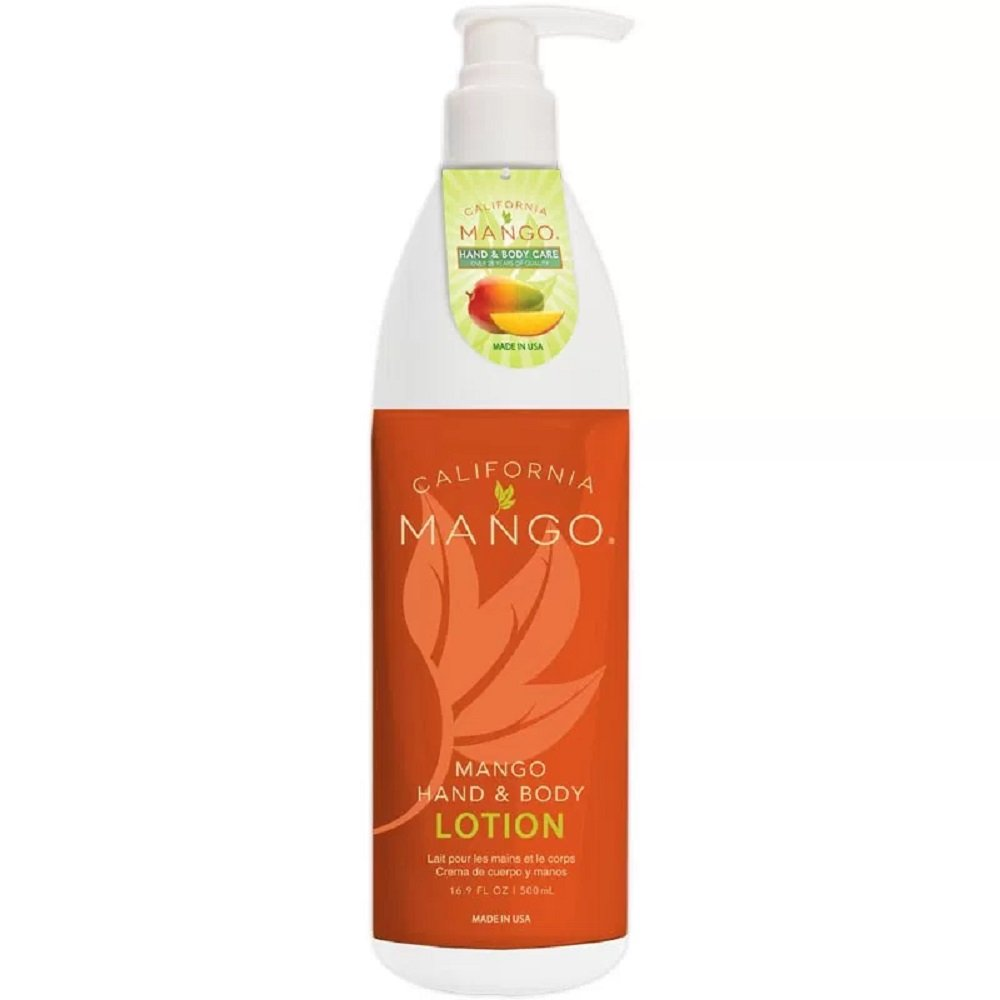 California Mango Natural Hand and Body Lotion, 16.9 Ounce
