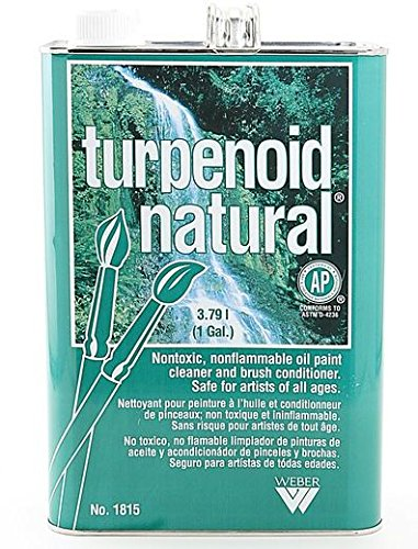 (Martin/F. Weber Turpenoid Natural (Gallon Can) 1 pcs sku# 1836199MA)