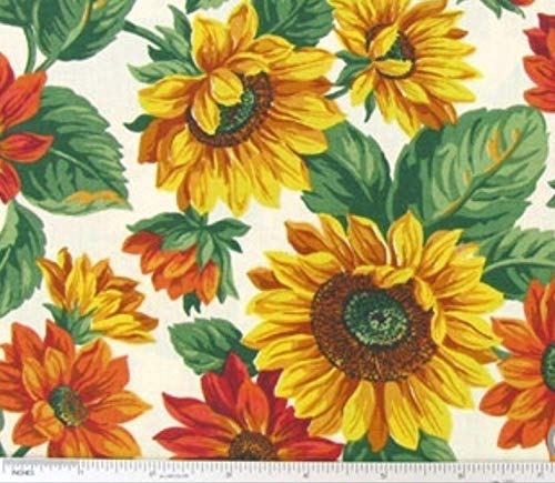 (Sunflowers Tiers or Curtain Panels 43