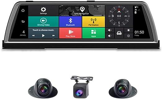 2019 nueva cámara DVR para automóvil, 4G 4 vías ADAS Android 10 ...