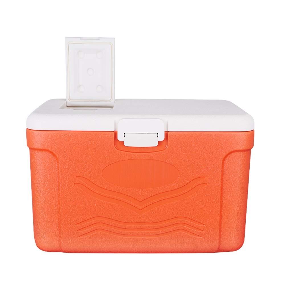 LIANGLIANG Kühl Box Hitzebewahrung Außengriff Auto Behalten Frische Portable Hochleistungs-Drainage-Port Multifunktions 48L