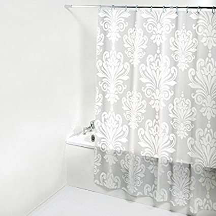 ZnzbztFrom Punch Kit Waterproof Shower Curtain Rod Thick Mildew Resistant Nordic Health Bathroom Wall 120