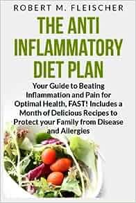 Anti inflammatory diet books amazon