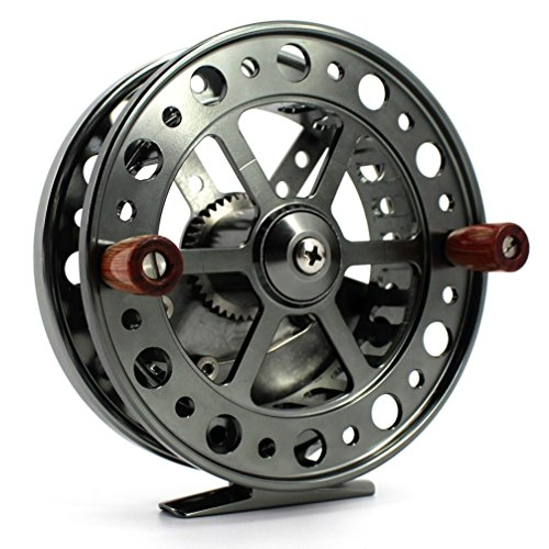 EEL CENTRE PIN REEL STEELHEAD FISHING COARSE TROTTING CENTERPIN 114MM ()