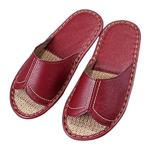 Wine Femme Red Chaussons Women pour TELLW wI8xvRqEf