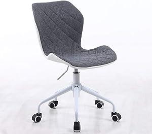Modern Home Ripple Mid-Back Office Task Chair - White/Gray White Base