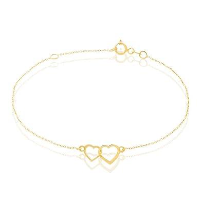 HISTOIRE D OR - Bracelet Or - Femme - Or jaune 375 1000 - adb50b5194aa