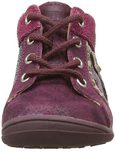 Catimini Anemone - Zapatos de primeros pasos Bebé-Niños Rosa - Rose (16 Vtc Bordo/Fuchsia Dpf/Gluck)