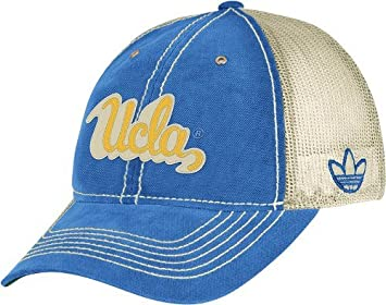 aebe55d32f68d Image Unavailable. Image not available for. Colour  adidas UCLA Bruins  Retro Logo Slouch Adjustable Meshback Hat