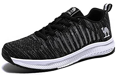Camel Women's Running Shoes Breathable Athletic Mesh Non-Slip Fashion Lightweight Walking Shoes Sports Sneakers Gym