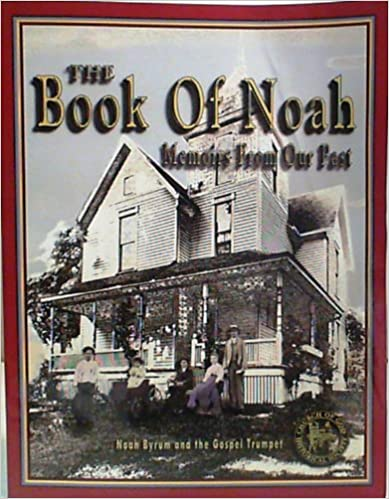 Book The Book of Noah Memories from Our Past