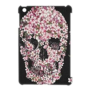 Custom New Case for Ipad Mini 3D, Skulls & Rose Phone Case - HL-527871