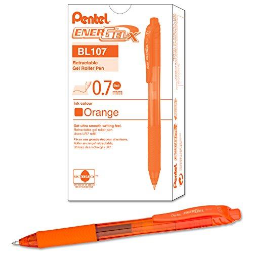 Pentel EnerGel X Retractable Liquid BL107 F