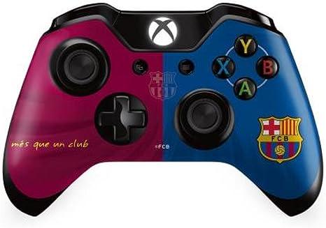 Barcelona F.C, perfecta para regalo para mando de Xbox One con piedras de cristal brillantes - A genial objeto/cumpleaños con texto en alemán para hombre o niño: Amazon.es: Deportes y aire libre