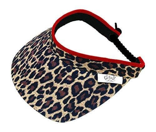 Glove It Women's Visor (Leopard)