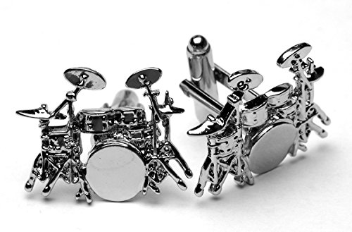 (Handmade Artisan Drum Kit Cuff Connectors - Gift Boxed)