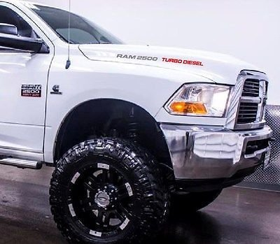 DODGE RAM 2500 TURBO DIESEL HOOD DECALS (GRAY ...