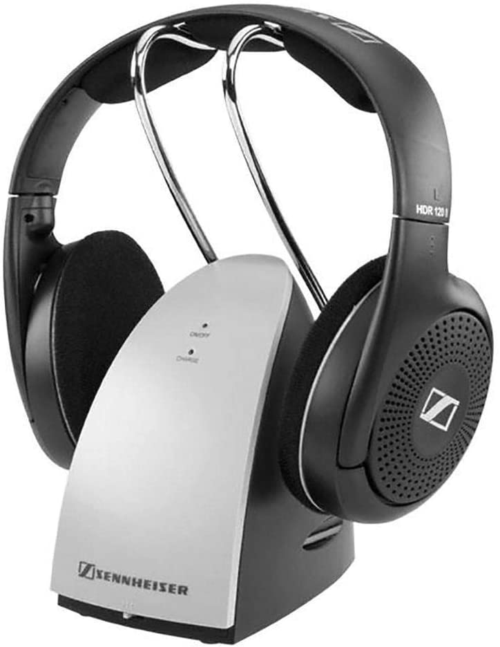 Amazon Com Sennheiser Rs 120 Wireless Headphones Discontinued By Manufacturer Renewed Home Audio Theater
