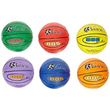 "MAC-T 6 Piece Junior Size 5 Basketball Set, 27-1/2"" Size, Assorted Colors"