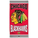 "Chicago Blackhawks Wincraft Logo Red Fiber Reactive Beach Towel 30""x60"""