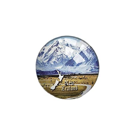 Nueva Zelanda 3D Refrigerador Imán de Nevera Cristal de Cristal ...