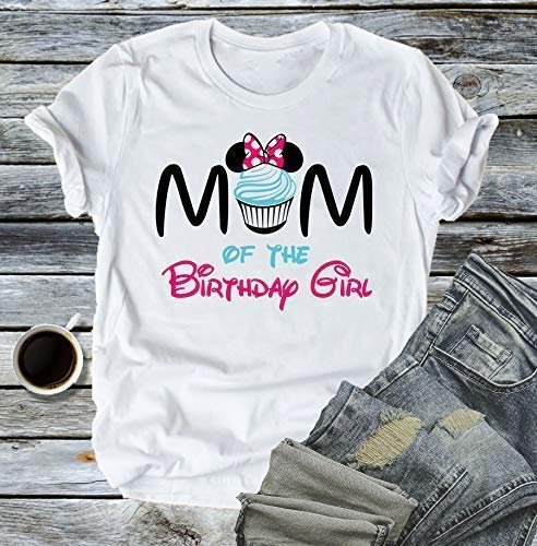 Minnie Mouse inspired Daddy of the birthday girl shirt men shirts birthday